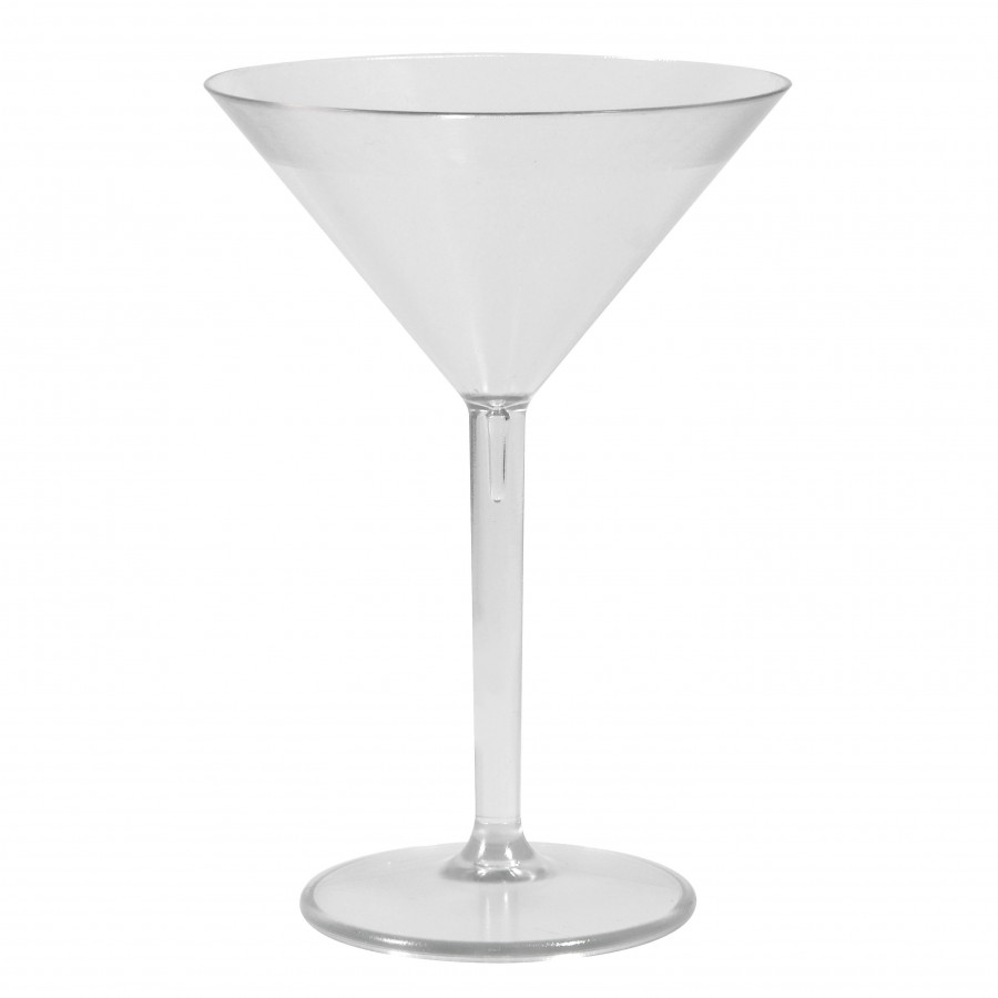 Cocktail glass plast
