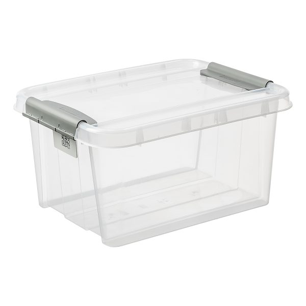 Probox 32L storage box made of translucent material. The box has a clear Scandinavian design. It is part of premium series of stackable storage solutions.