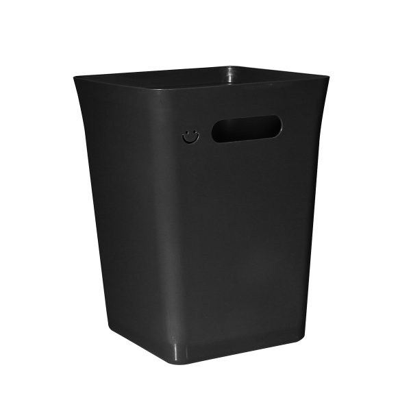 Avedøre 15L rubbish bin which is part of modular waste management system. Bin is in a black color, can be extended with an instert on hang on bracket.