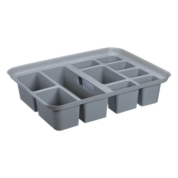 The Tray is an addition to Probox storage boxes storage boxes that helps organize small items storage. It is part of the premium storage box series.