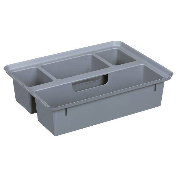 The Tray is an addition to Probox storage boxes that helps organize small items storage. It is part of the premium storage box series.