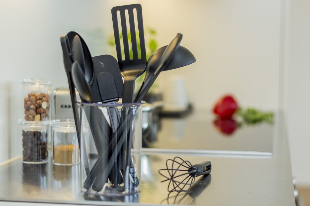 Gilleleje, series of kitchen tools including spoons, spatulas and whisk that help to prepare food efficiently and hygienically.